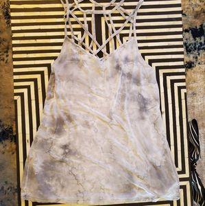 American Eagle Tye-Dye Cagey Top